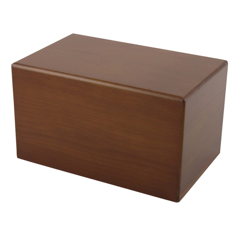 Box Pet Urn, Honeynut, X-Large