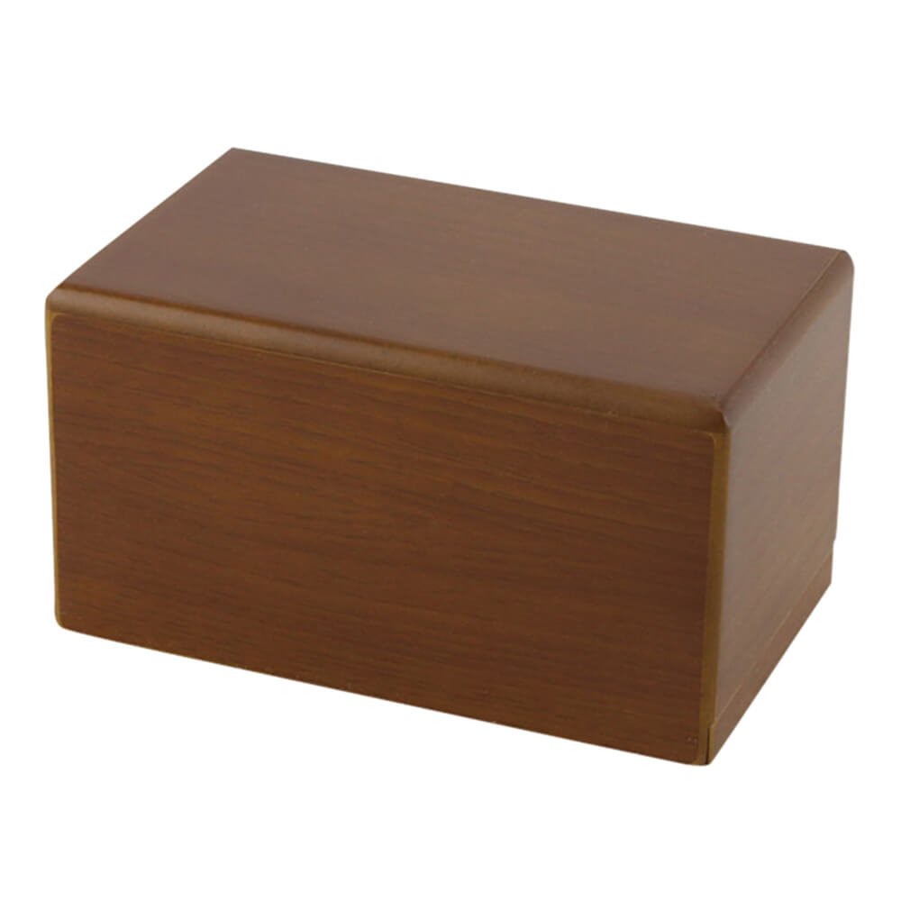 Box Pet Urn, Honeynut, Small