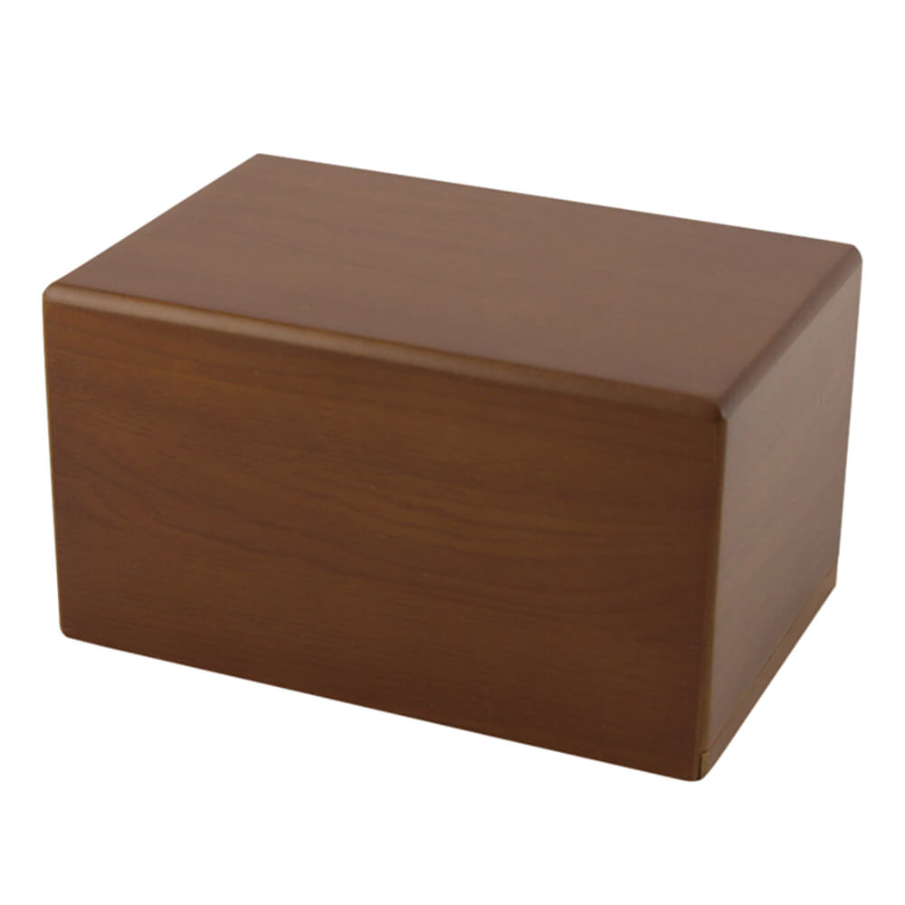 Box Pet Urn, Honeynut, Large