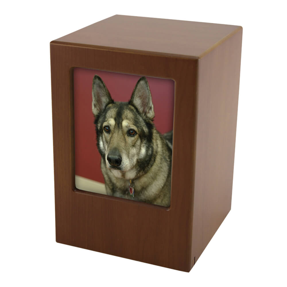 Photo Frame Pet Urn, Honeynut, X-Large