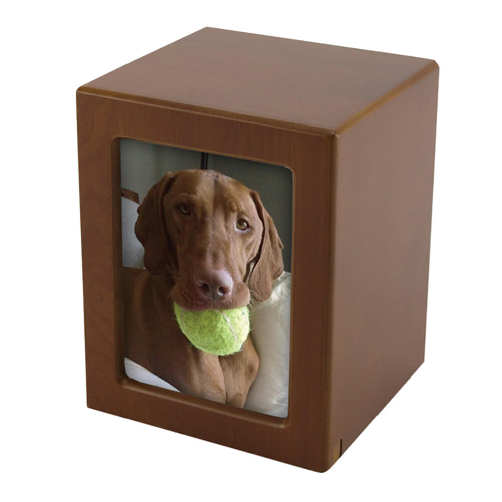 Photo Frame Pet Urn, Honeynut, Large