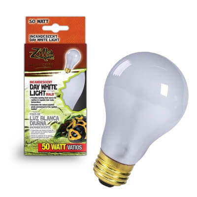 Day White Light Incandescent Bulb Boxed 50W