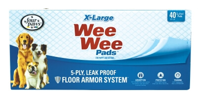 Wee Wee Pads X-Large 40 Count