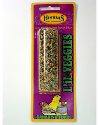 Treat Stick Canary/Finch Lil Veg 2Oz