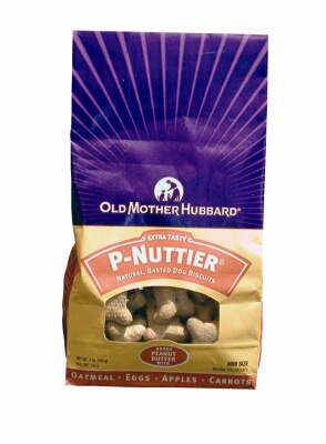 Old Mother Hubbard Dog Biscuits P-Nuttier 5 oz Mini