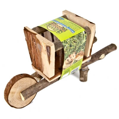Woody Wheel Burrow Hay Holder