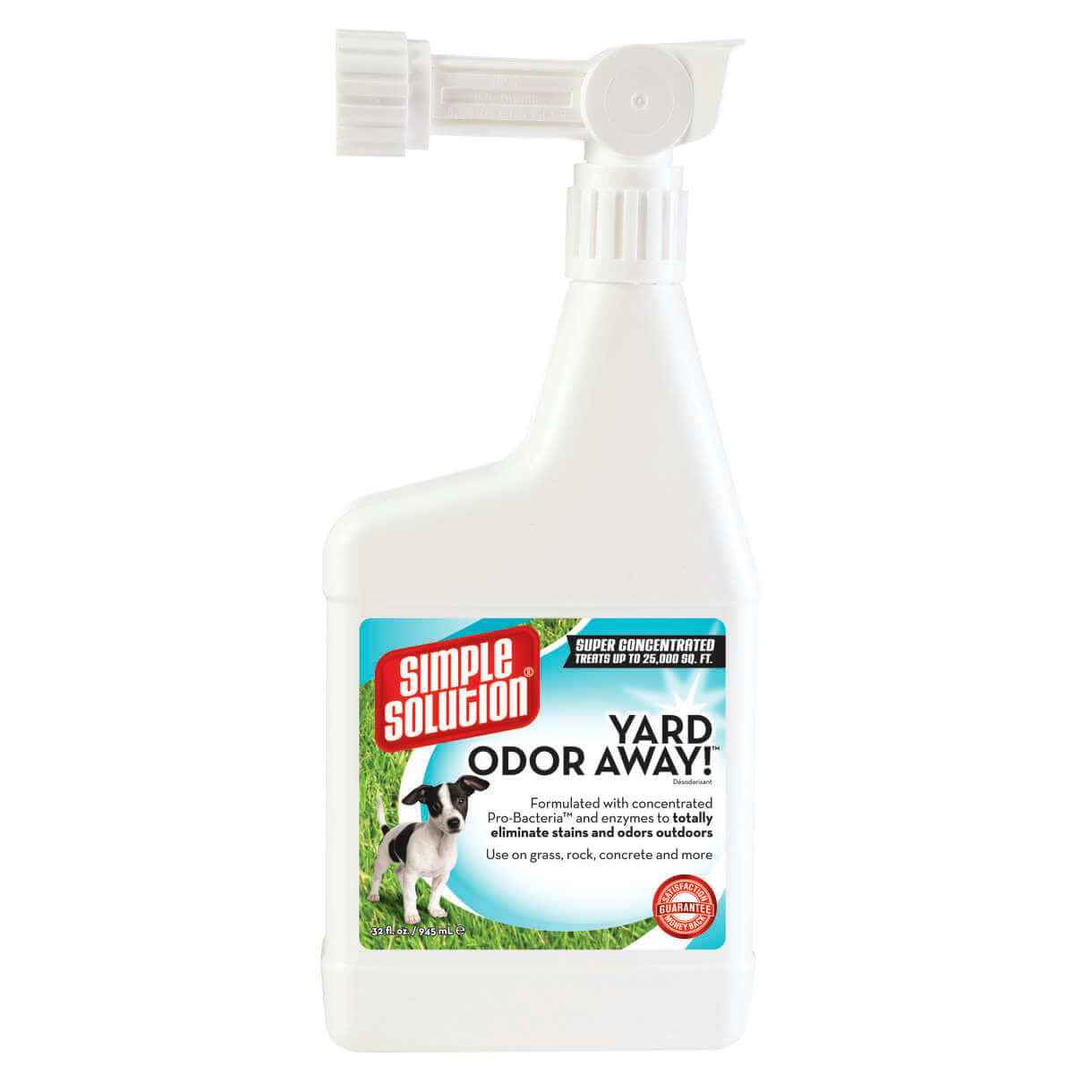 Simple Solution Yard Odor Away Hose Spray Concentrate 32oz White 2.25