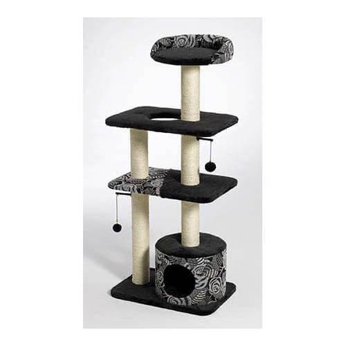 Midwest Catitude Tower Cat Furniture Black 22
