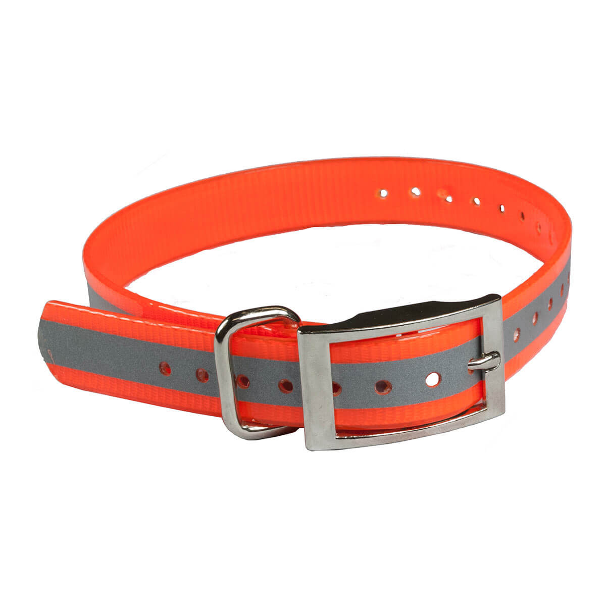 The Buzzard's Roost Reflective Collar Strap 1