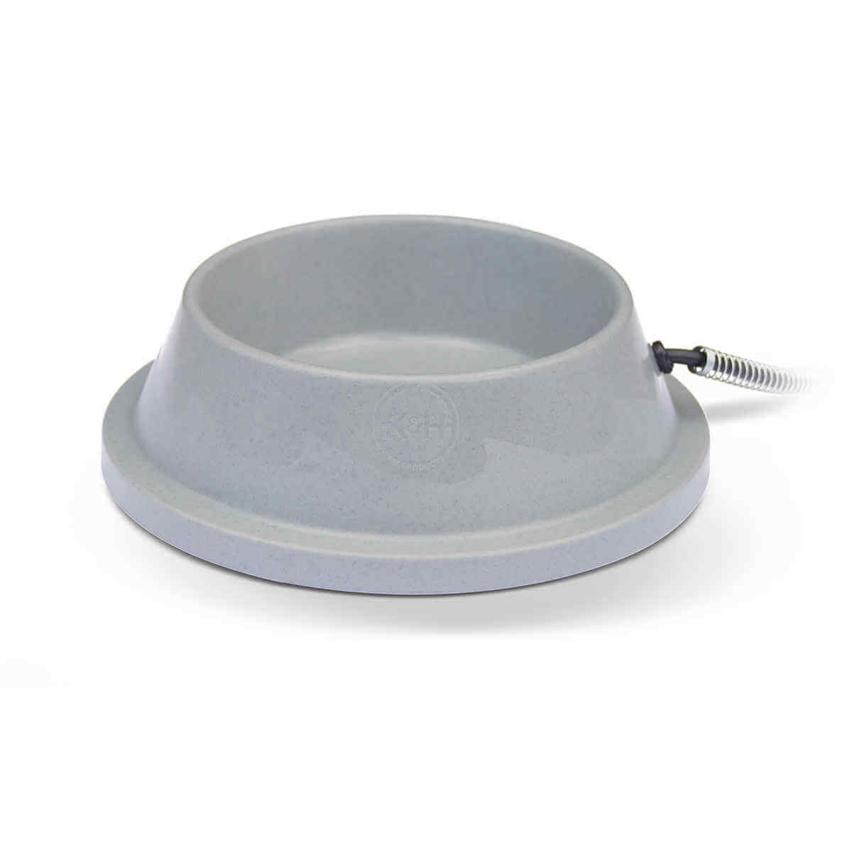 K&H Pet Products Pet Thermal Bowl Gray 10.5
