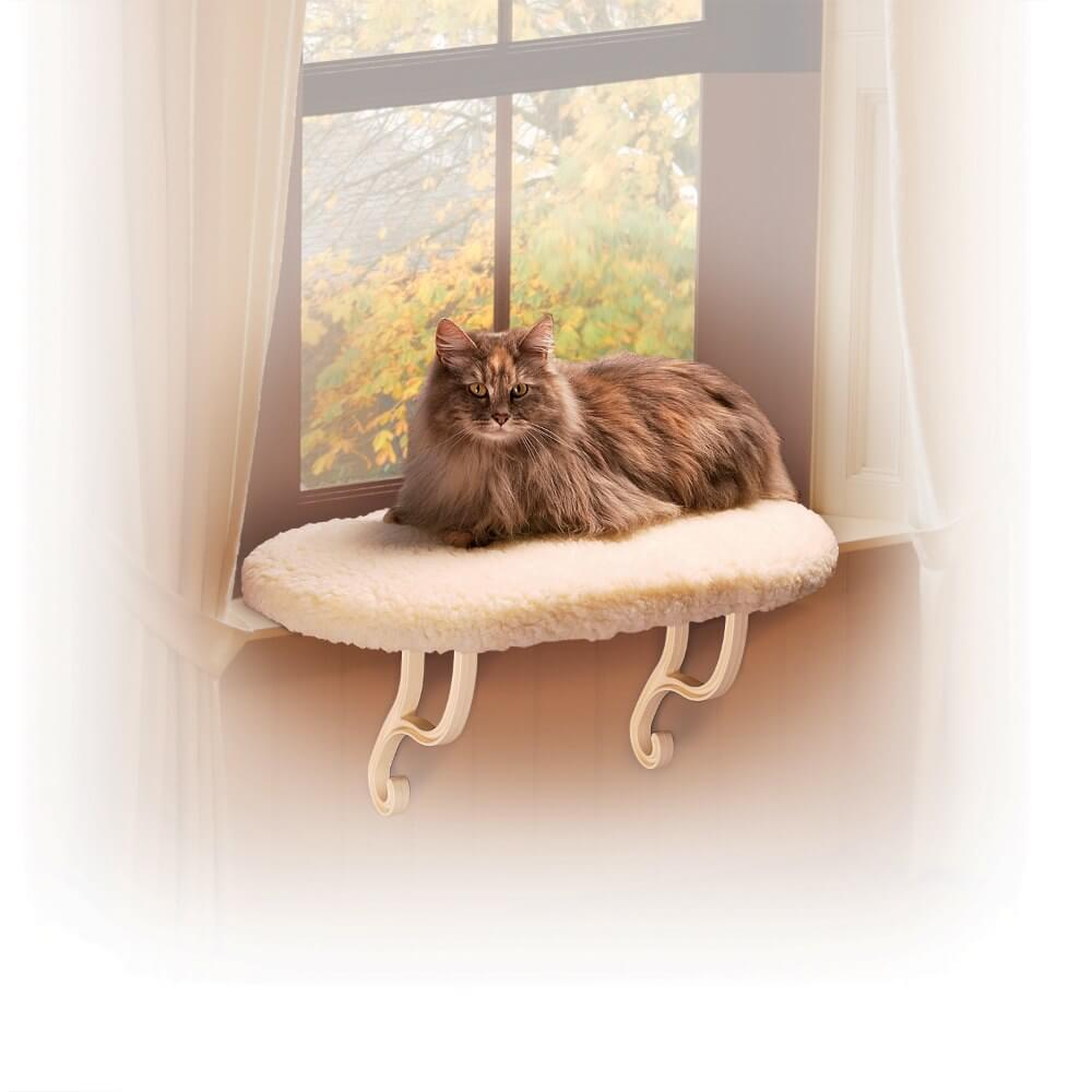 K&H Pet Products Kitty Sill Unheated White 14