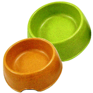 Bamboo Dog Bowl