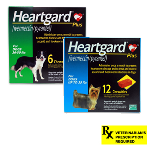 Heartgard Plus Rx Chewables for Dogs