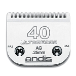 Andis #40 AG UltraEdge Detachable Blade