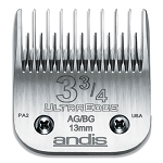 Andis #3 3/4 Skip Tooth AG/BG UltraEdge Detachable Blade