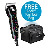 Andis Happy Hour 5spd Detachable Blade Clipper w/ FREE Ion Trimmer