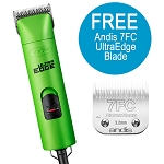 Andis UltraEdge AGC Super 2-Speed - Green + FREE Nail Grinder