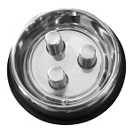 Brake-fast Bowl, Stainless Steel Dog Bowl, Medium
