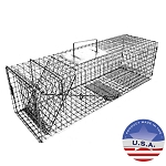 Tomahawk Live Trap 106.3 Extra Long Rigid Trap for Cats and Rabbits