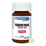 Furosemide Rx Tablets, 20 mg x 100 ct