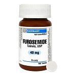 Furosemide Rx, 40 mg x 100 ct