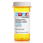 Heartgard Plus Rx Chewable, Brown, 51-100 lbs, Single