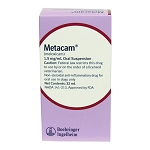 Metacam Oral Suspension Rx, 1.5 mg/ml x 32 ml