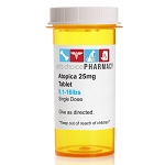 Rx Atopica Yellow, 25mg, 9.1-16 lbs Single Capsule