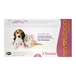 Revolution Topical, Puppies & Kittens up to 5 lbs, 3 Doses, Rx