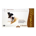 Revolution Rx for Dogs, ORM-D, 10.1-20 lbs, 3 Month (Brown)