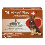 Rx Tri-Heart Plus, Brown, 51-100 lbs
