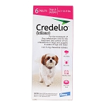 Rx Credelio 6.1-12 lbs 6 month, Pink