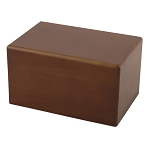 Box Pet Urn, Honeynut, Medium