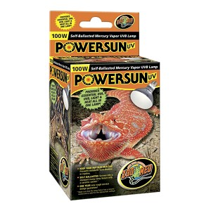 Powersun UV 100 Watt Mercury Vapor