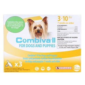 Combiva II for Dogs & Puppies