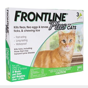 Frontline Plus Flea & Tick for Cats