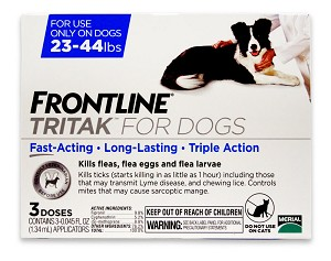 Frontline Tritak for Dogs