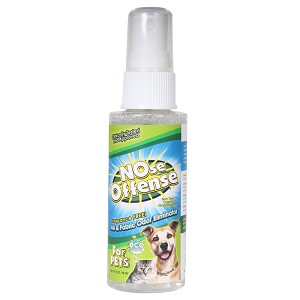 NOse Offense Air & Fabric Odor Eliminator Travel Spray for Pets, 2 oz