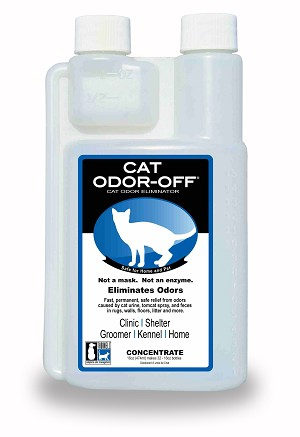 Cat Odor Off, Concentrate, 16 ounce