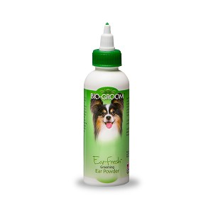 Bio-Groom Ear-Fresh  Grooming Ear Powder, for Dogs and Cats, 24 g