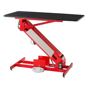 PetLift LowRider Masterlift Elec Fixed-Top Groom Table