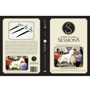 Super Styling Sessions, Scissoring & Thinning DVD