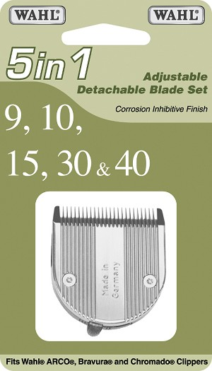 Wahl 5-in-1 Adjustable Detachable Blade Set