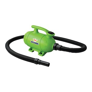 XPOWER B-2 Pro at Home Pet Grooming Force Dryer and Vacuum, Green