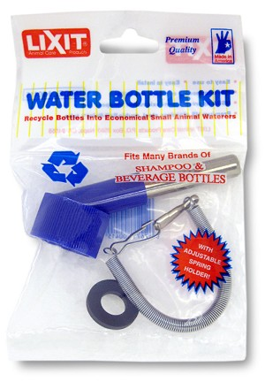 Lixit Water Bottle Kit with Spring