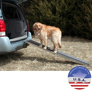 Aluminum Dog Ramp - Holds up to 250 lbs