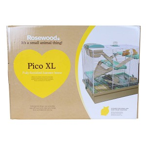 Pico XL Fully-Furnished Hamster Home