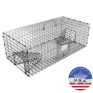 Tomahawk Live Trap 501 Sparrow Trap with Two Trap Doors