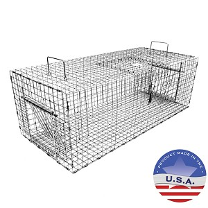 Tomahawk Live Trap 502R Collapsible Pigeon Trap with Two Trap Doors