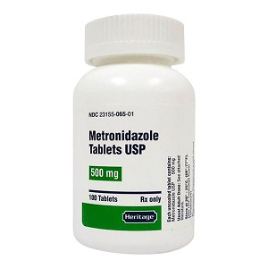 Rx Metronidazole, 500 mg x 100 tablets